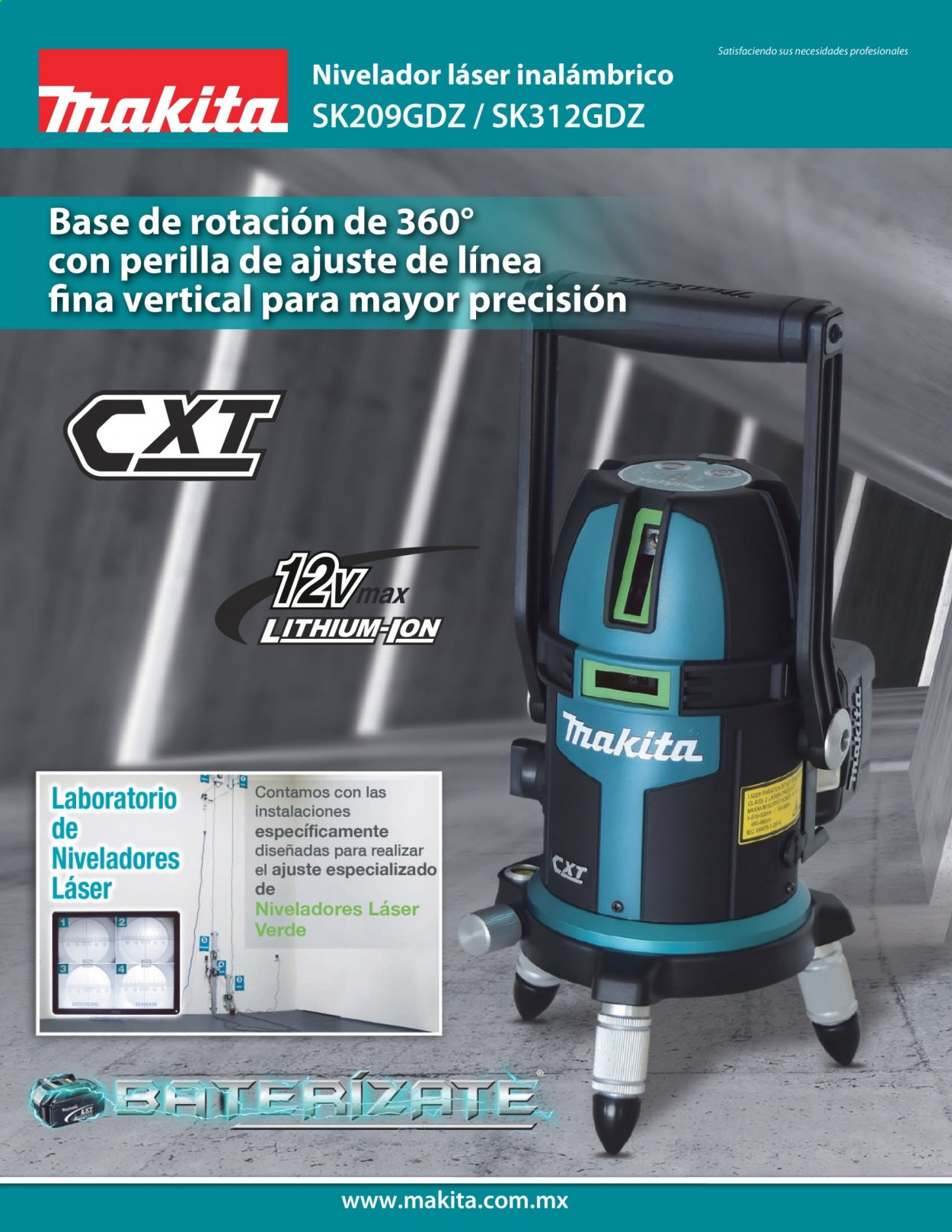 Folleto actual Makita - Ventas - inalámbrico, makita, laboratorio. Página 1.